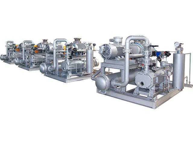 JZJLG型罗茨螺杆泵真空机组